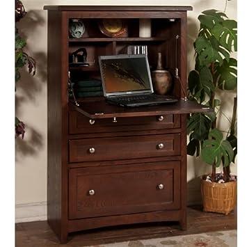 sunny designs laptop armoire cappuccino - Sunny Designs Desk