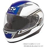 オージーケーカブト(OGK KABUTO)バイクヘルメット フルフェイス KAMUI2 CLEGANT (クレガント) パールホワイトブルー (サイズ:L)