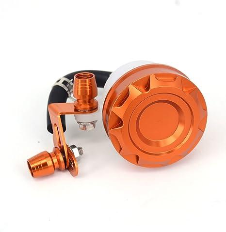 Fast Pro Orange en Aluminium CNC de Frein Avant dembrayage R/éservoir Ma/ître Cylindre R/éservoir dhuile fluides Tasse pour KTM EXC Excf XC XCF XCW SX SXF 250/350/450/530/Dirt Pit Bike MX Enduro