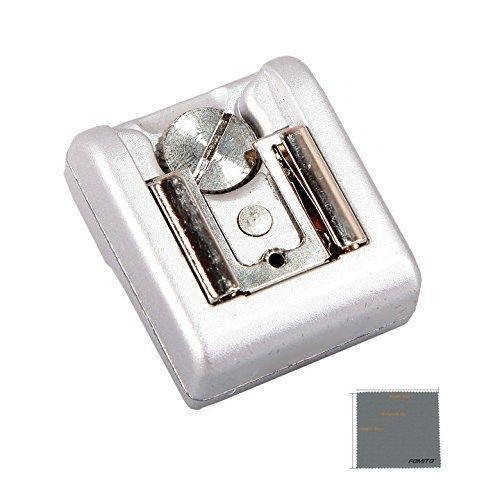 Fomito Hot Shoe Adapter Camera Wireless Speedlite Flash Trigger For Sony NEX3 NEX-3C NEX5N Silver by Fomito