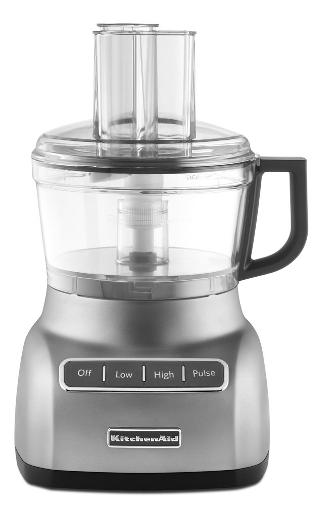KitchenAid RKFP0711CU 7-Cup Food Processor- Contour Silver (Certified Refurbished)
