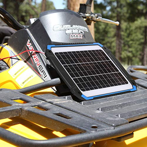 SUNER POWER 12V Solar Car Battery Charger & Maintainer - Portable 14W Solar Panel Trickle Charging Kit for Automotive, Motorcycle, Boat, Marine, RV, Trailer, Powersports, Snowmobile, etc. by SUNER POWER (Image #4)