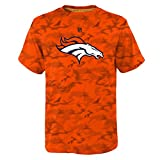 OuterStuff Denver Broncos Youth Vector Camo Dri Tek Performance Shirt