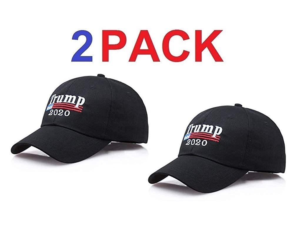 070cd83f4c3 Make america great again hat pack donald trump usa maga cap adjustable  baseball hat cap black