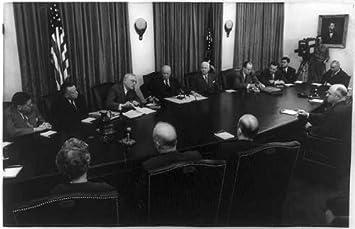 Amazon.com: Photo: D Eisenhower, cabinet members, report, European ...