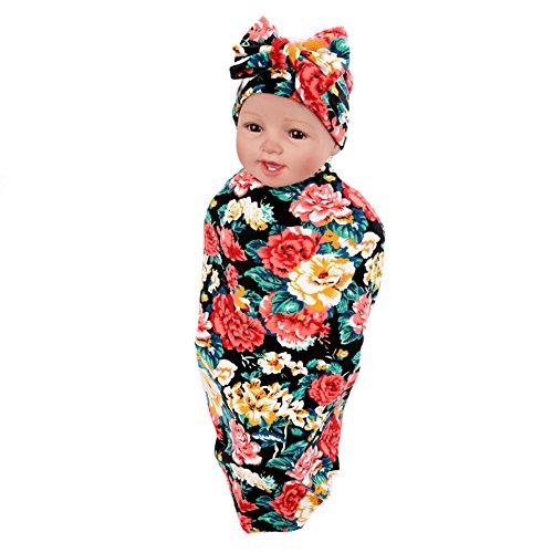 Hollyhorse Newborn Swaddle Receiving Blankets