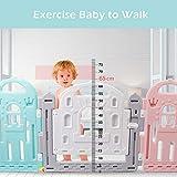 BAMMAX Baby Playpen, Baby Fence Indoor Play Yard