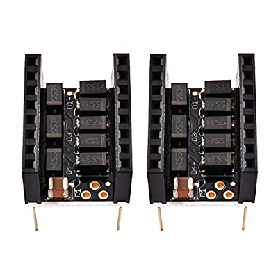 Kreema 2Pcs MKS Stepstick Smoother Protector Vibration Filter 3D Printer for Stepper Motor Driver Module