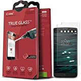 iCarez [Tempered Glass] Screen Protector for LG V10 Easy Install with Lifetime Replacement Warranty - Retail Packaging 2015