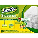 Swiffer Sweeper Gain Original Scent Dry Sweeping Cloths Refills, 16 sheets