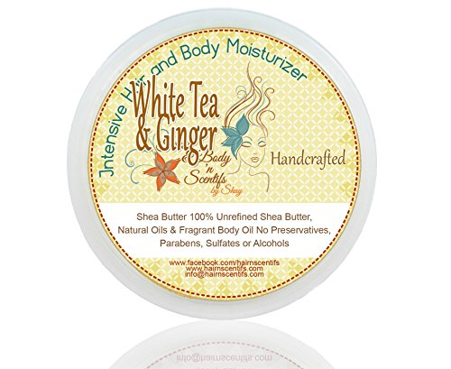 Whipped Scented Shea Butter - White Tea & Ginger