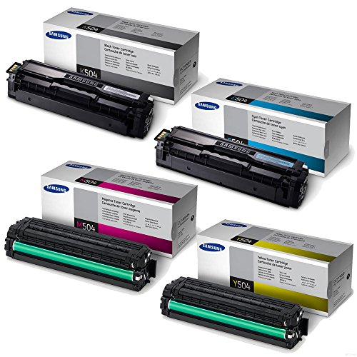 Samsung SL-C1860FW Standard Yield Toner Set BK 2500/Color 1800 Pages