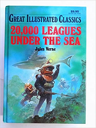20 000 Leagues Under The Sea Great Illustrated Classics Jules Verne 9781561563074 Books Amazon Ca