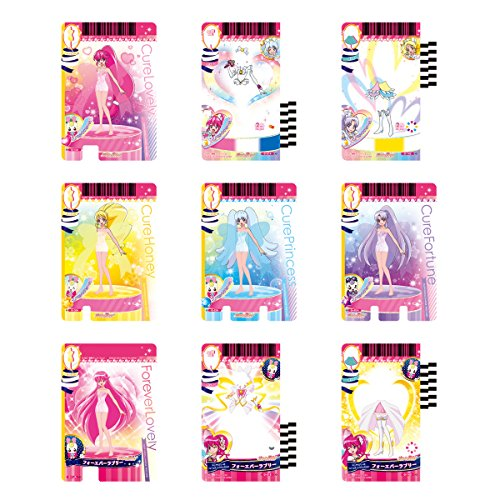 Happiness charge Precure ! Pre Card Collection 9 Innocent form DX