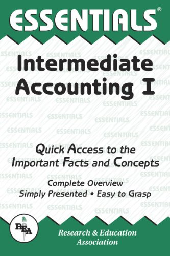 Intermediate Accounting I Essentials (Essentials Study Guides) (Vol 1)