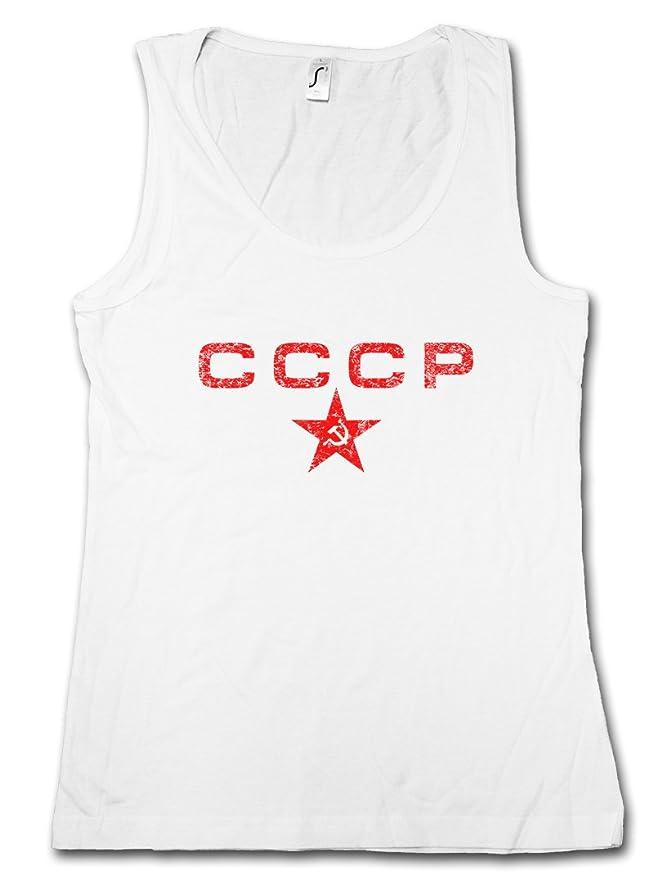 RED STAR TANK TOP VEST Socialism Communism Soviet Union UDSSR CCCP Russia Putin