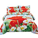 Best Dolce Mela Elegant Bedding King Size Beds - Duvet Cover Set, King size Floral Bedding, Dolce Review