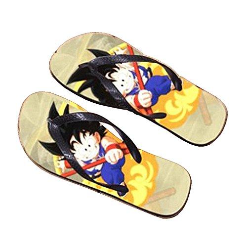 Bromeo Dragon Ball Anime Unisex Flip Flops Chanclas 910