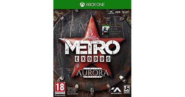 Metro Exodus Aurora Limited Edition + Spartan Survival Guide (Exclusive to Amazon.co.uk) - Xbox One [Importación inglesa]: Amazon.es: Videojuegos