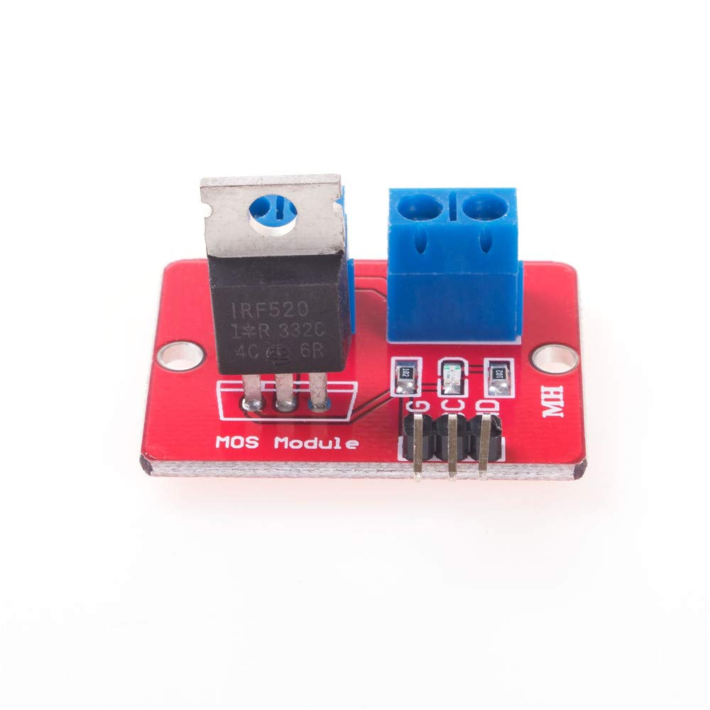 ANGEEK 5 pieces IRF520 MOSFET switching module driver module for Arduino AVR ARM Raspberry