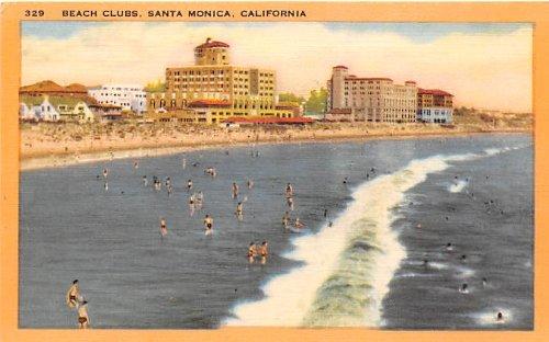 Santa Monica, California Postcard