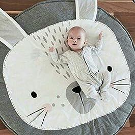 Alfombra para bebé acolchada conejo