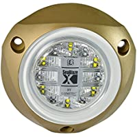 Lumitec SeaBlazeX LED Underwater Boat Light, Surface Mount, Strobe, Dimmable