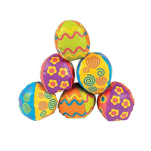 Egg-Shaped Kick Balls