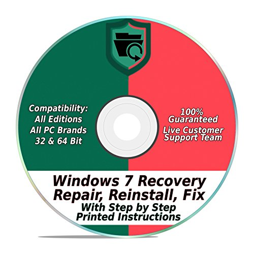 Picture of a Windows 7 Repair Recovery 687928140294