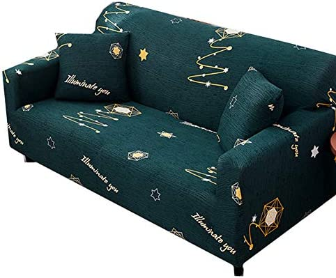 Yagoal Funda Sofa Gatos Fundas de Sofa Anti Gatos Magia Cubierta de sofá Elástico sofá Cubre Sofá Fundas de Asiento Sofá Funda de Almohada 141-181,Dark Green: Amazon.es: Hogar