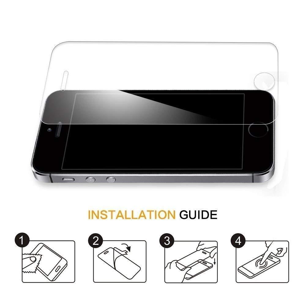 NONOAL Compatible avec Iphone 6 6s 3 Film Verre tremp/é Iphone 6 6s qualit/é sup/érieure Prend en Charge la Technologie 3D Touch