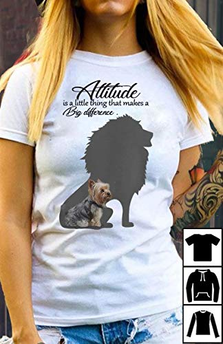 - Shih Tzu with lion attitudes is a little thing that make a big difference T-Shirt Long T-Shirt Sweatshirt Hoodie