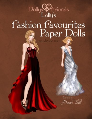 Dollys and Friends Lolly's Fashion Favourites Paper Dolls:: Wardrobe No: 8