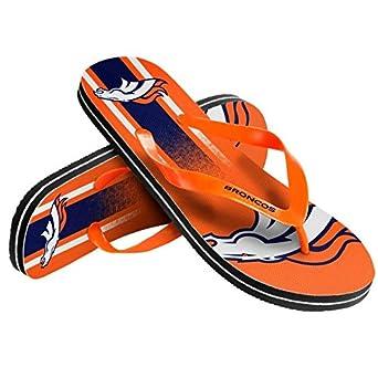 Denver Broncos Big Logo Low Top Sneakers Team Color Shoes US Men/'s Sizing