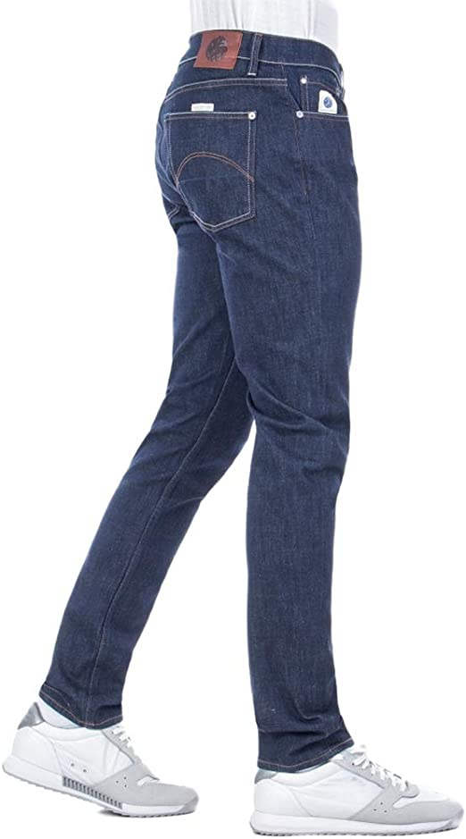 Pretty Green Mens Slim Fit Erwood Jeans - 6 Month Wash-36R Blue: Amazon.co.uk: Clothing