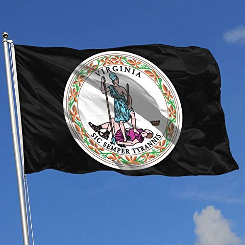 TJHJOL Virginia State Flag 3x5 Feet Garden Flag (Flag Of Virginia During The Civil War)