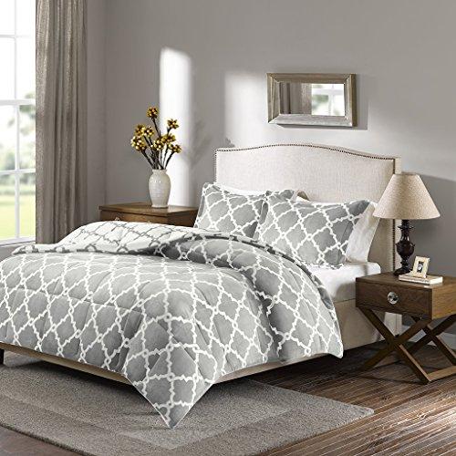 Sleep Philosophy True North Peyton Reversible Plush Comforter Mini Set, King, (Comforter Mini Set)