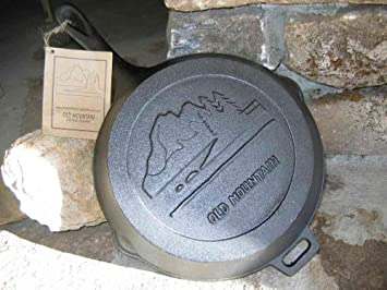 Old Mountain Pre Seasoned 10103 10 1 2 Inch x 2 Inch Skillet with Assist Handle