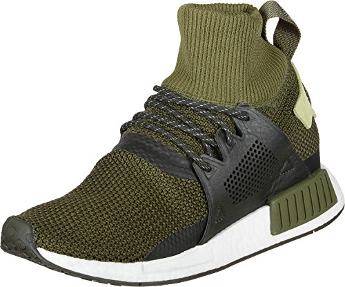 adidas NMD_xr1 Winter, Zapatillas de Deporte Para Niños Verde (Carace / Carnoc / Tiesom 000)