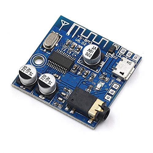 4.1 Bluetooth Mp3 Ble Decodificador M/ódulo de Placa Altavoz de Coche sin p/érdidas Amplificador de Potencia de Audio Receptor de Audio DIY