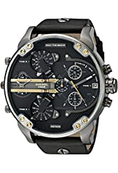 Diesel Men's DZ7348 Mr Daddy 2.0 Black Stainless Steel Watch