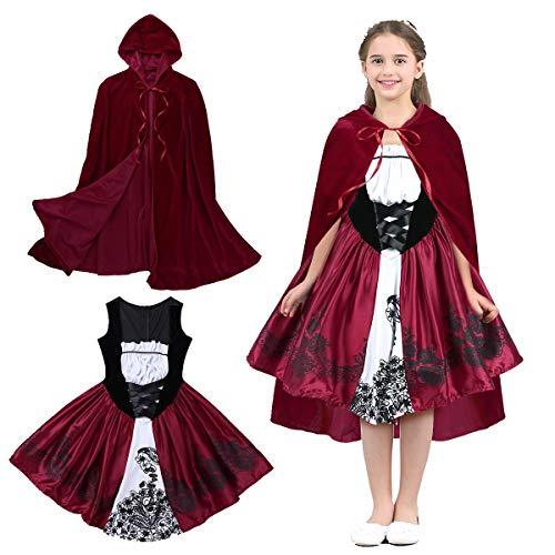 Little Red Ridinghood Costumes - Freebily Kids Girls Little Red Riding-Hood