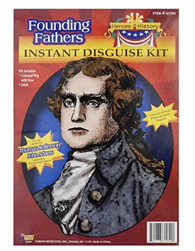 Thomas Kit Jefferson (Child Heroes in History Instant Disguise Kit (Thomas)