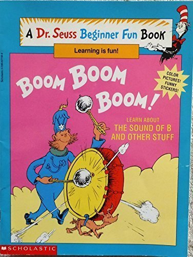 BOOM BOOM BOOM! Learn About the Sound of B and Other Stuff by Linda; Goldsmith, Cathy ( Adapted by) Hayward - Mall Shopping Hayward