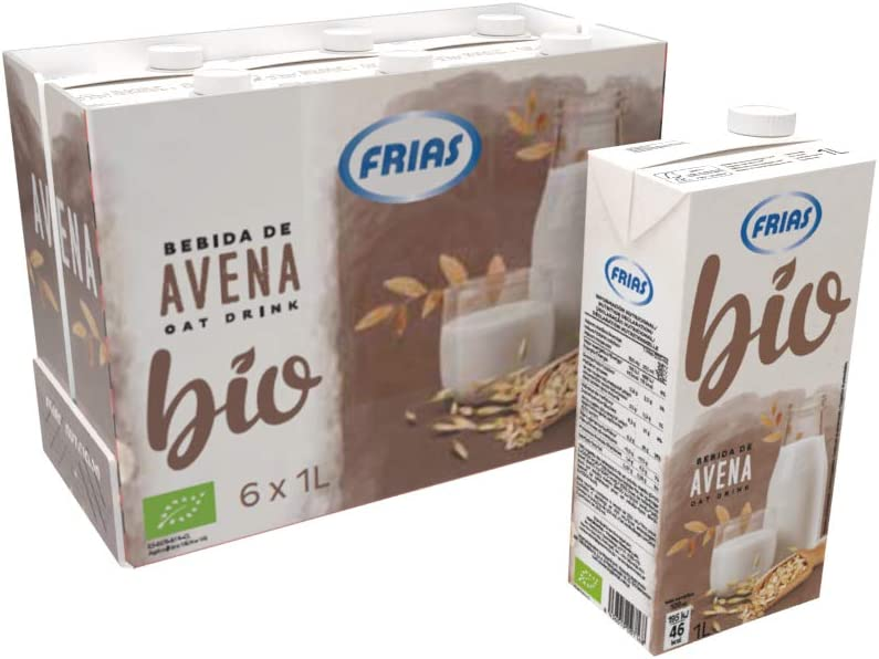 Frías - Bebida Bio de Avena caja con 6 litros: Amazon.es: Alimentación y bebidas