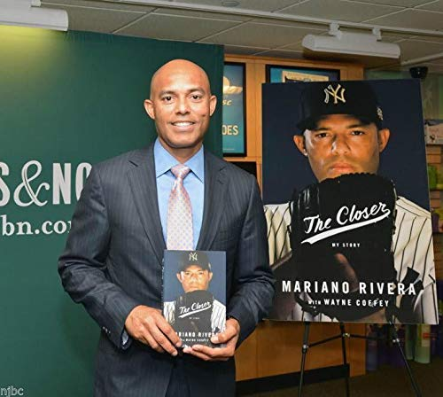 Mariano Rivera Autographed Signed Book The Closer Autographed Signed Beckett Authenticeball JSA Authentic