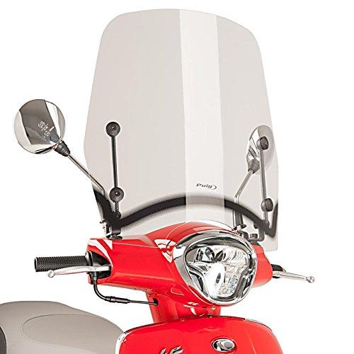 Kymco Like 125 2017 klar Motorrad Windschild Windschutz Puig T.S