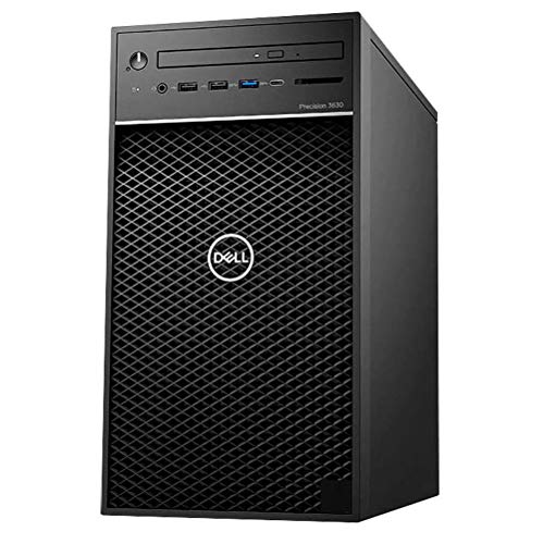 Dell Precision 3630 Tower Computer Workstation i7-8700 3.2GHz 6 Core, 32GB DDR4 RAM, 1TB SSD, NVIDIA Quadro P1000, Windows 10 Pro, 3 Years Warranty ()