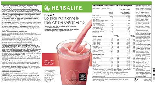 herbalife meal replacement ingredients