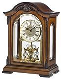 Cheap Bulova B1845 Durant Old World Clock, Walnut Finish
